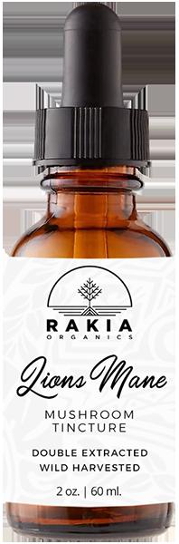 Lions Mane Mushroom Tincture For Sale - Rakia Organics