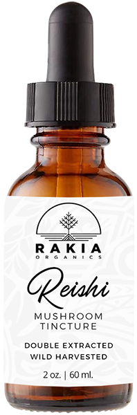 Reishi Mushroom Tincture For Sale - Rakia Organics
